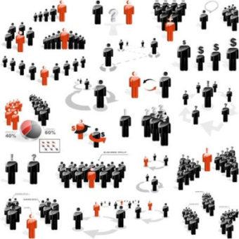 Yhteiskunta kokoelma ihmisiä