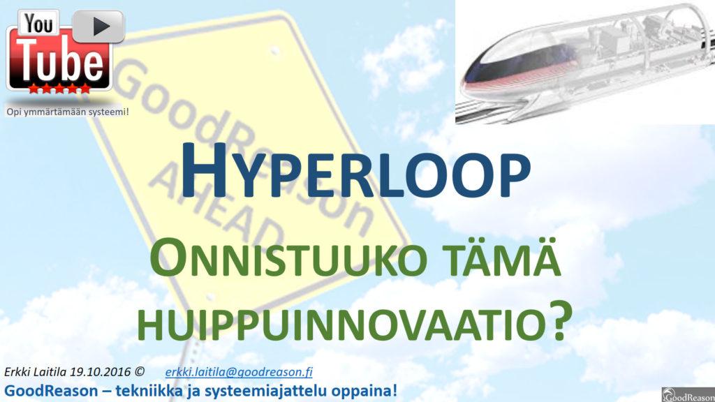 Hyperloop on yksi huimimmista liikenne-innovaatiosta; tuleeko se ensiksi juuri Suomeen?