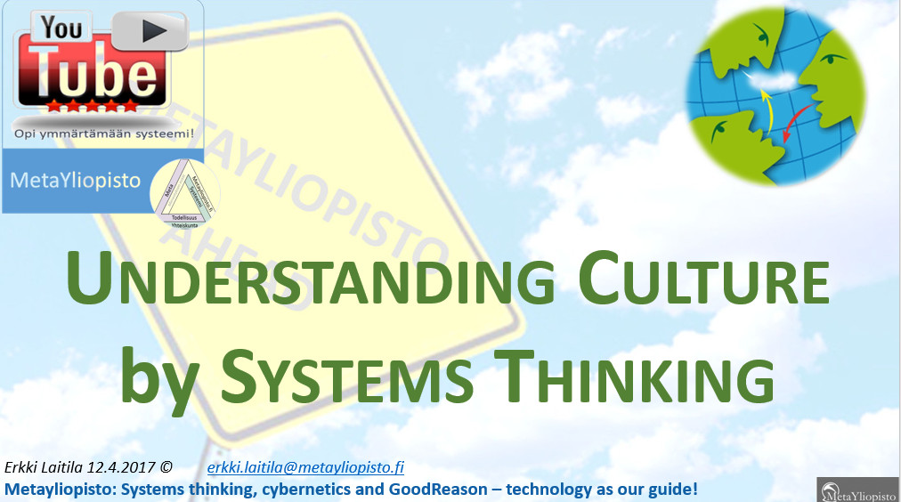 Culture seen from the system approach
