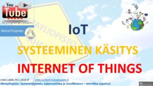 IoT on pian 100 miljardin euron markkina; Mitä on teollinen internet?