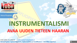 Teoriat ovat instrumentteja luoda tietoa ; Instrumentalismi