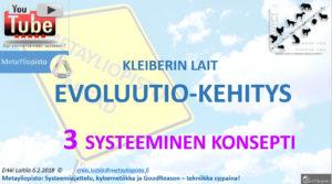 Metayliopiston biologian tunti vuorossa; evoluution universaalit lait (G. West)