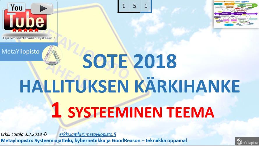 Tähän asti paras analyysi ja synteesi Suomen sotesta; Elina Lepomäen esityksestä aloittaen