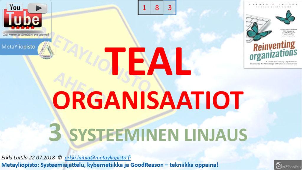 Hierarkiasta kohti holarkiaa: TEAL – organisaatiot