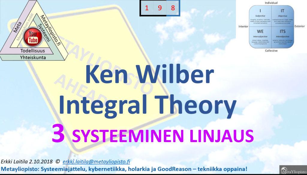 """Ken Wilber keksi """"Kaiken teorian""""; Metayliopisto pisti vielä paremmaksi!"""